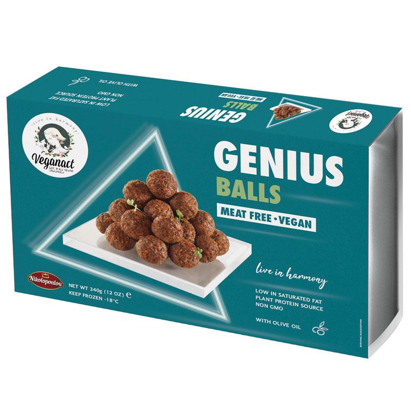 Albóndigas Veganas Genius 370gr.