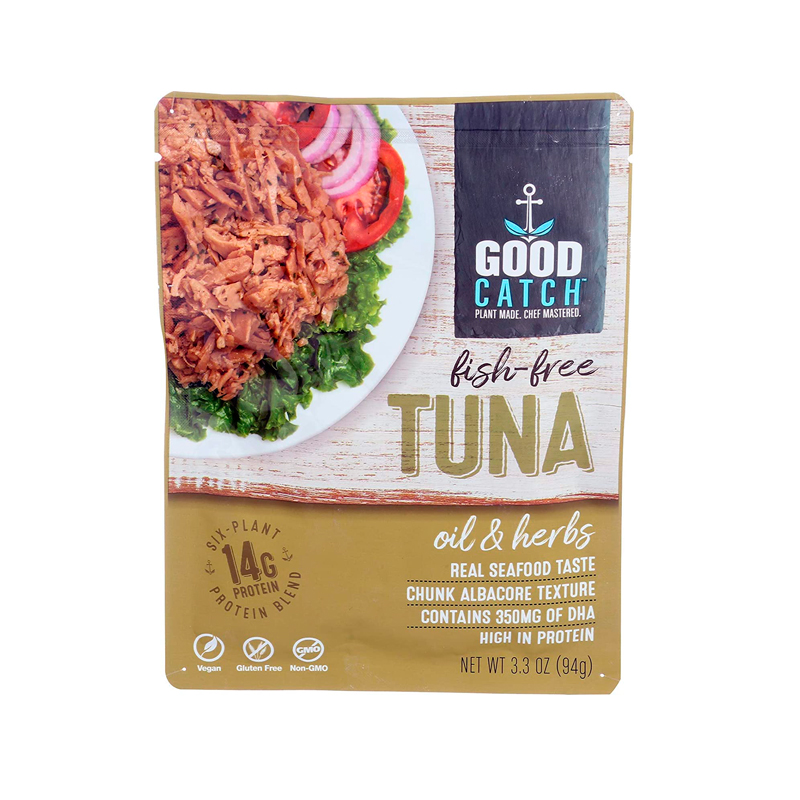 atun vegano aceite hierbas good-catch