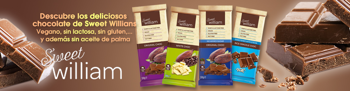 chocolate vegano sweet willians online