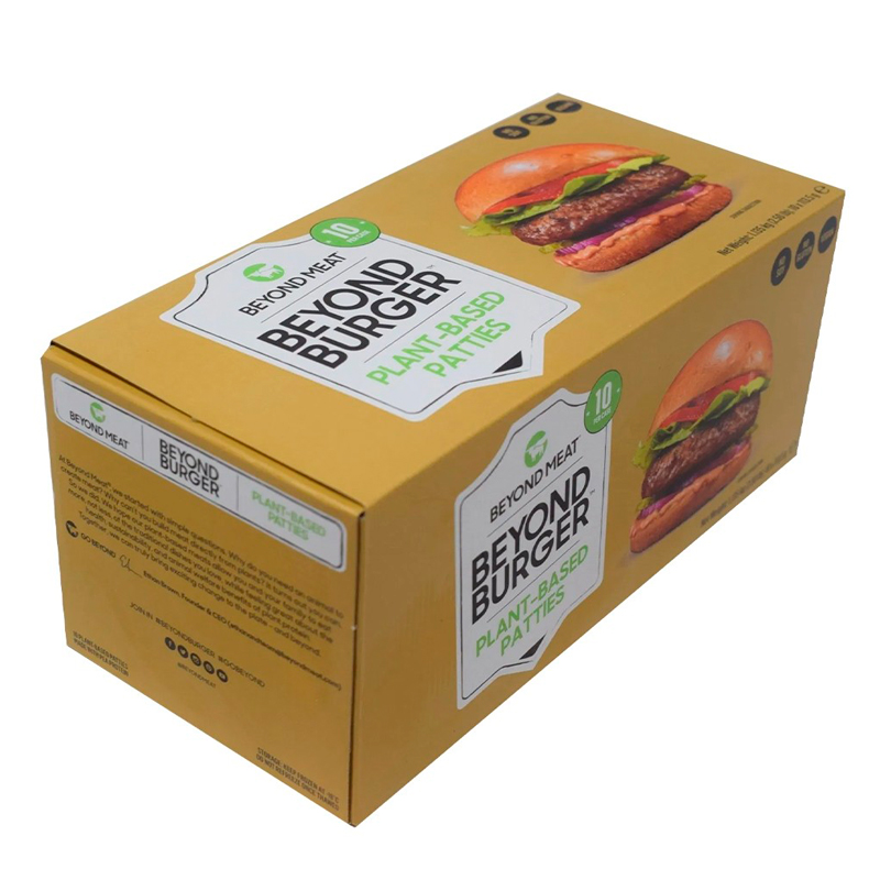 beyond burger caja 10 unidades