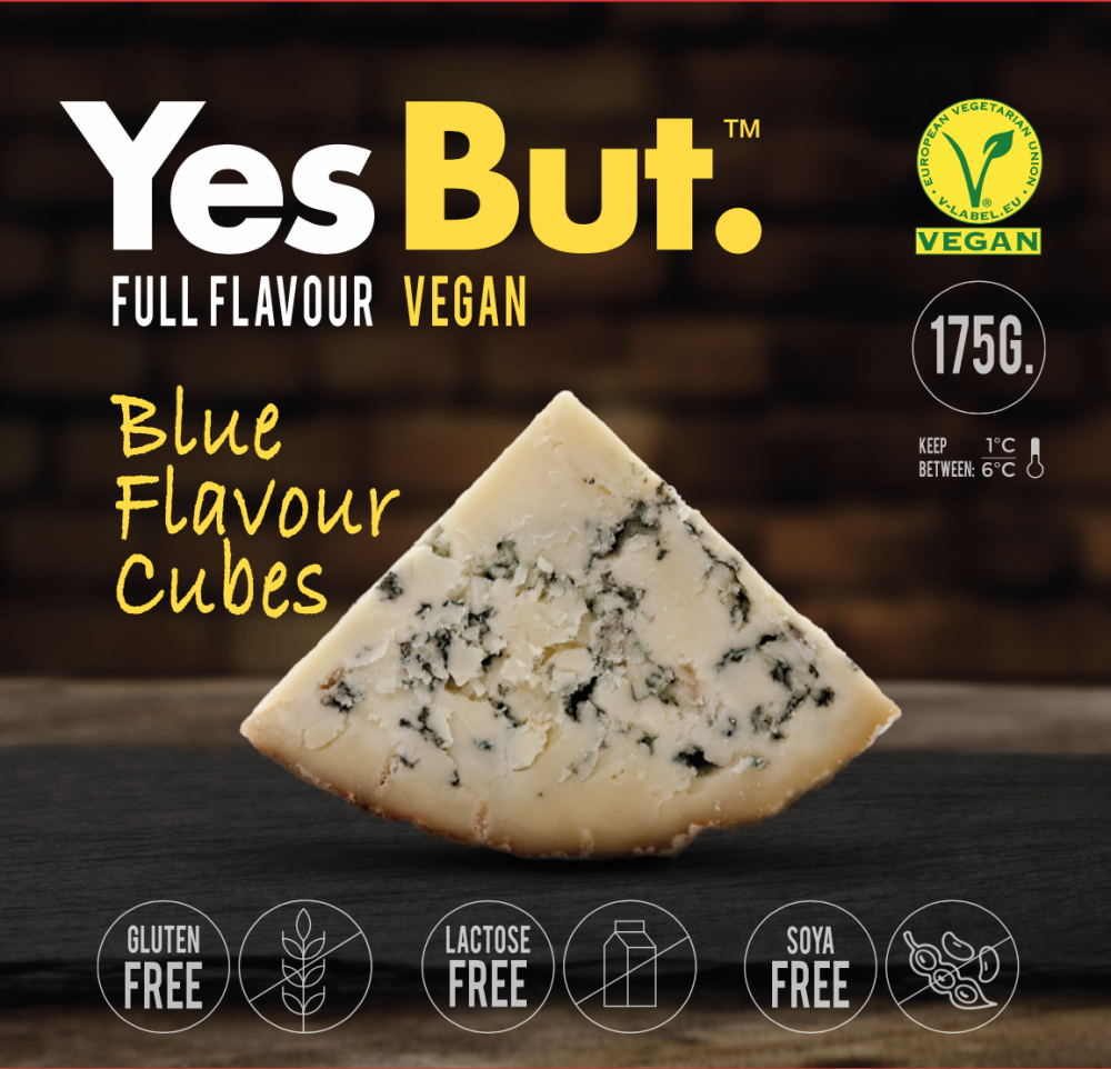 queso yesbut blue vegano