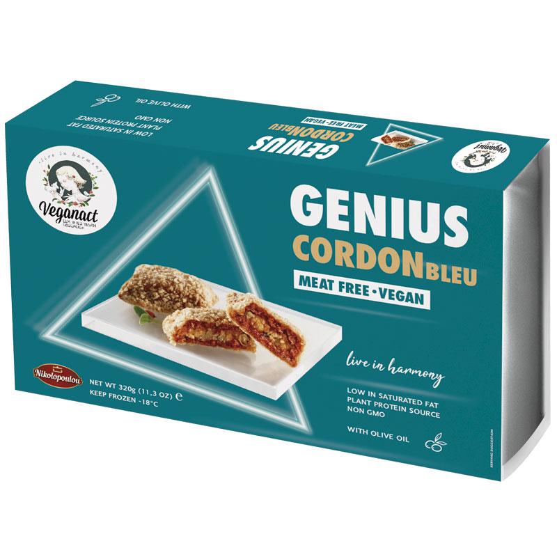 Cordon Blue Vegano Genius 340gr.