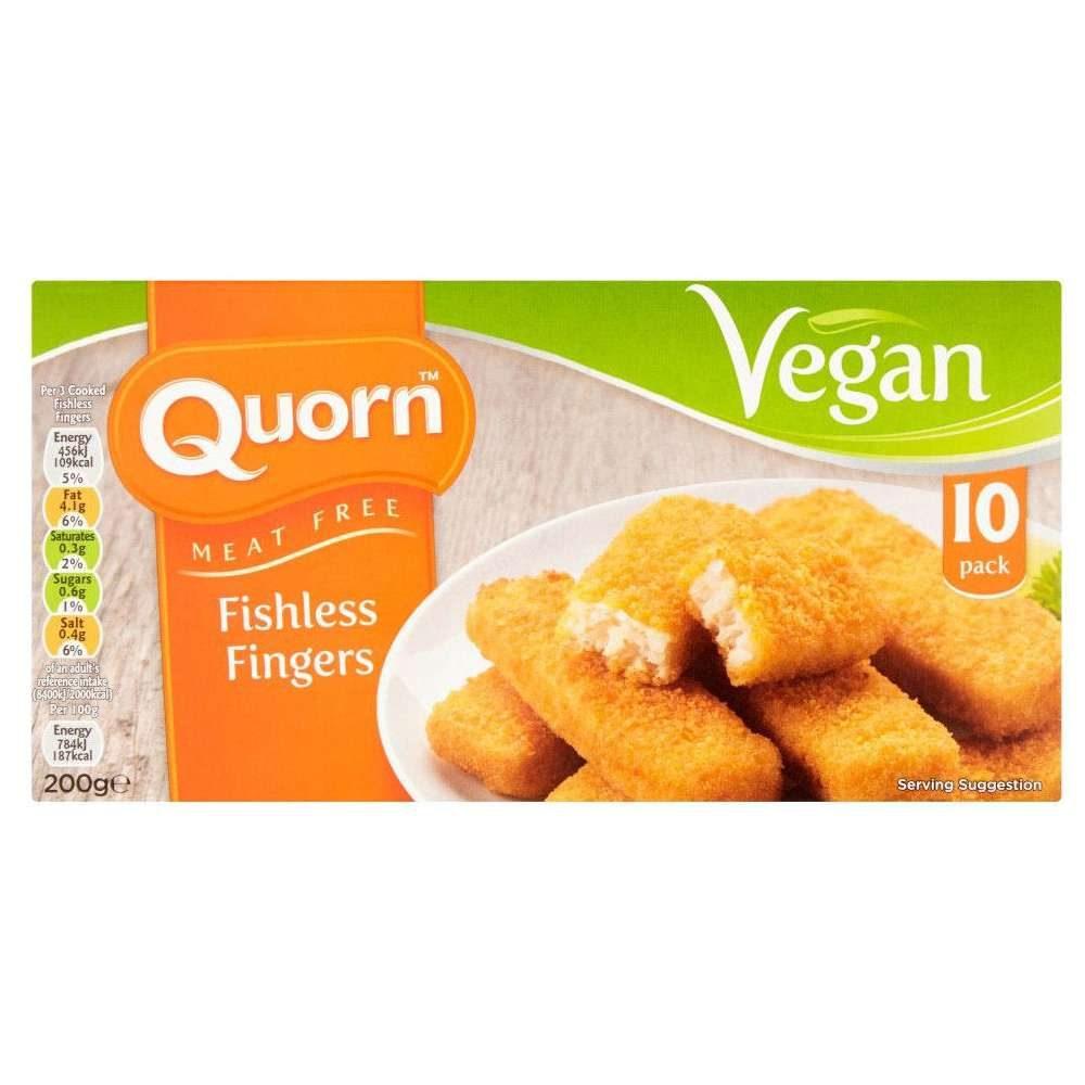 palitos de pescado vegano