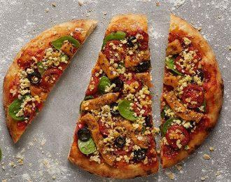 Pizza Barbacoa con tiras estilo pollo Fry´s 730gr