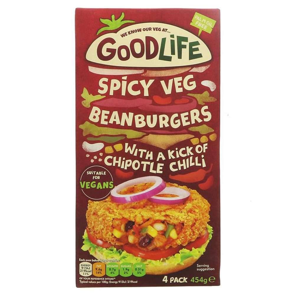 comida vegana hamburguesa especiada