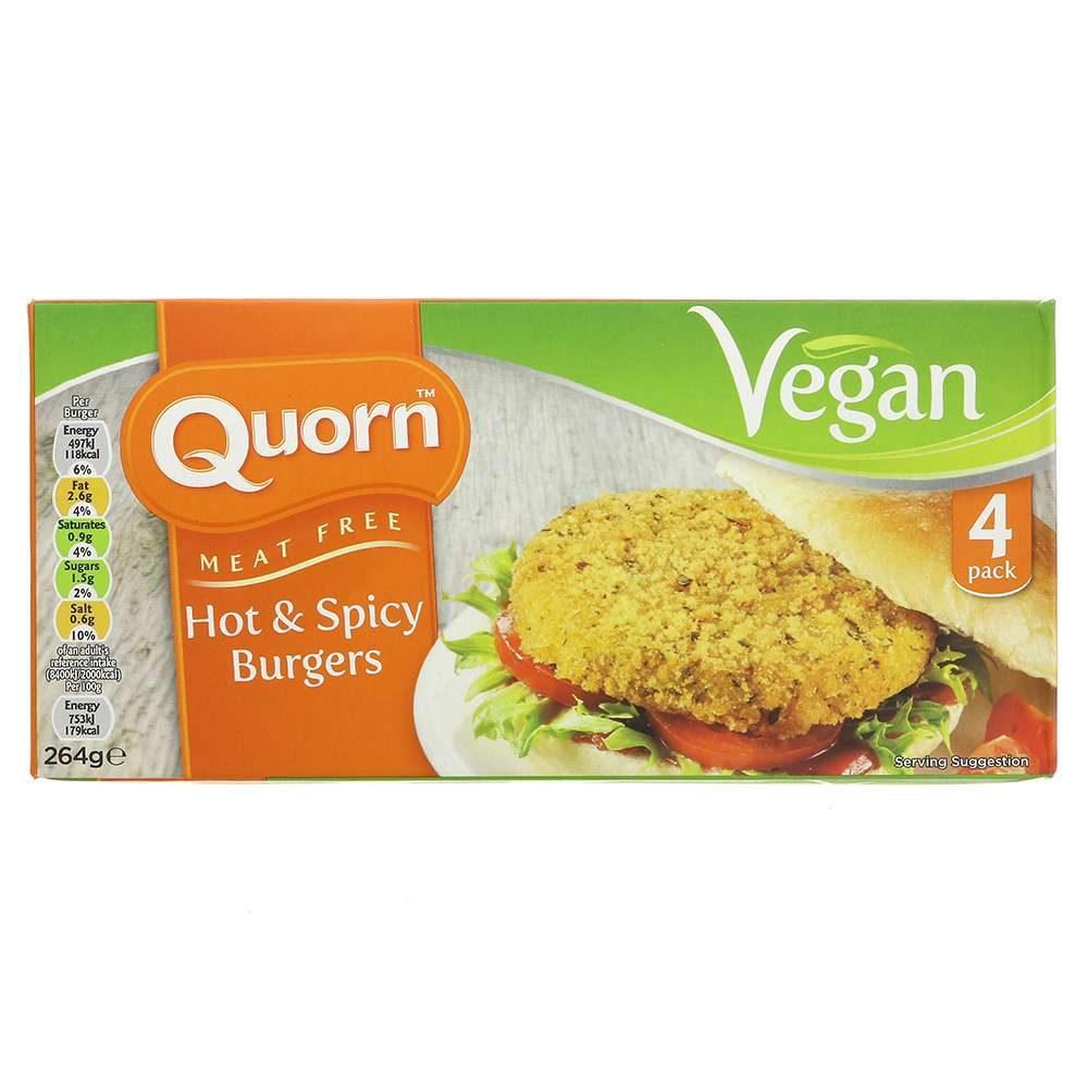 hamburguesa vegana hot