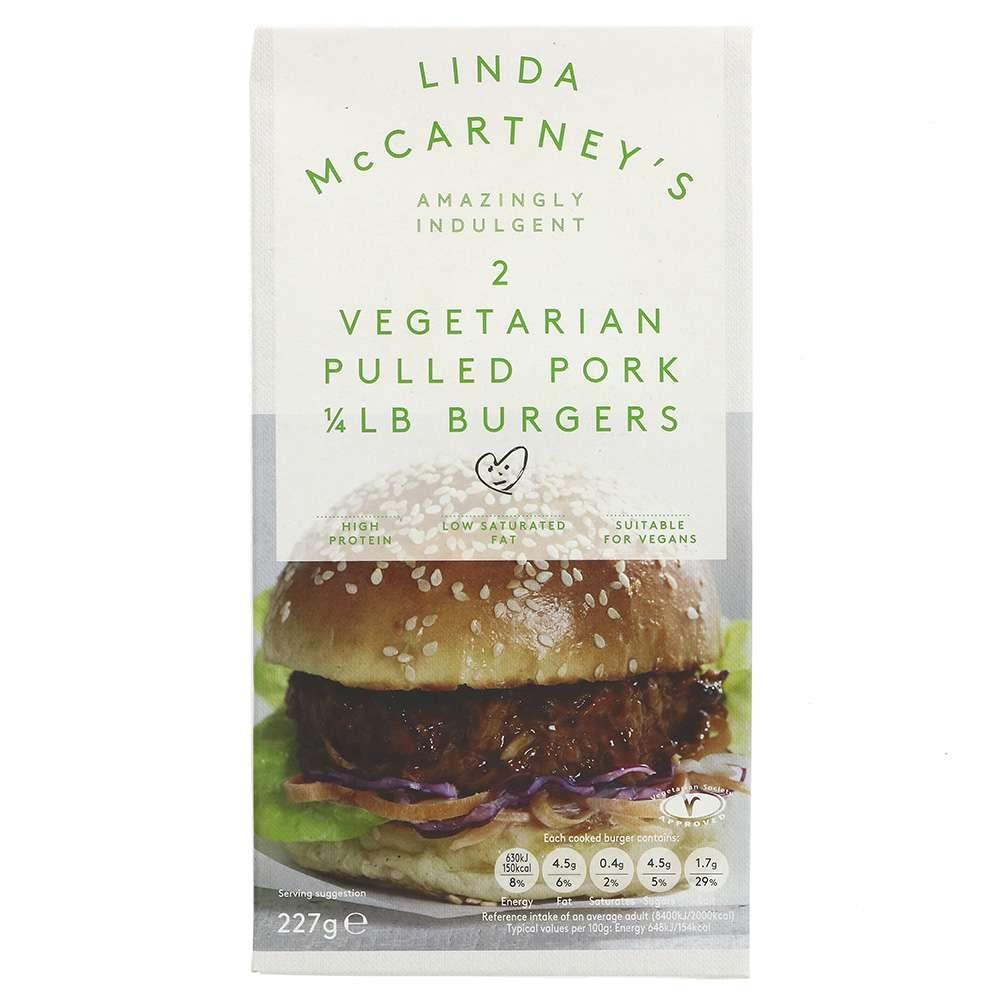burger vegetariana cerdo