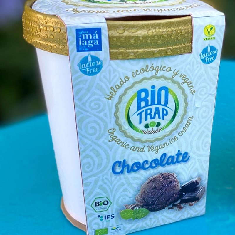 helado chocolate negro biotrap