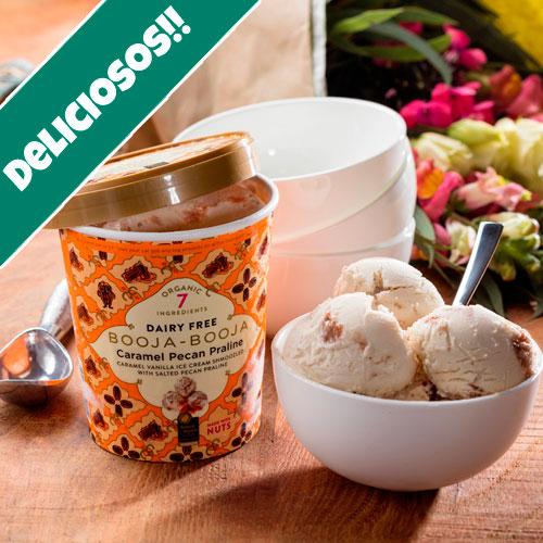 helados veganos caramelo sin gluten sin lacteos sin soja