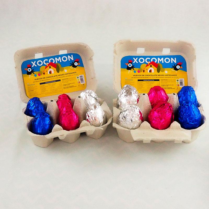 Huevos de chocolate artesanos XOCOMON 100gr