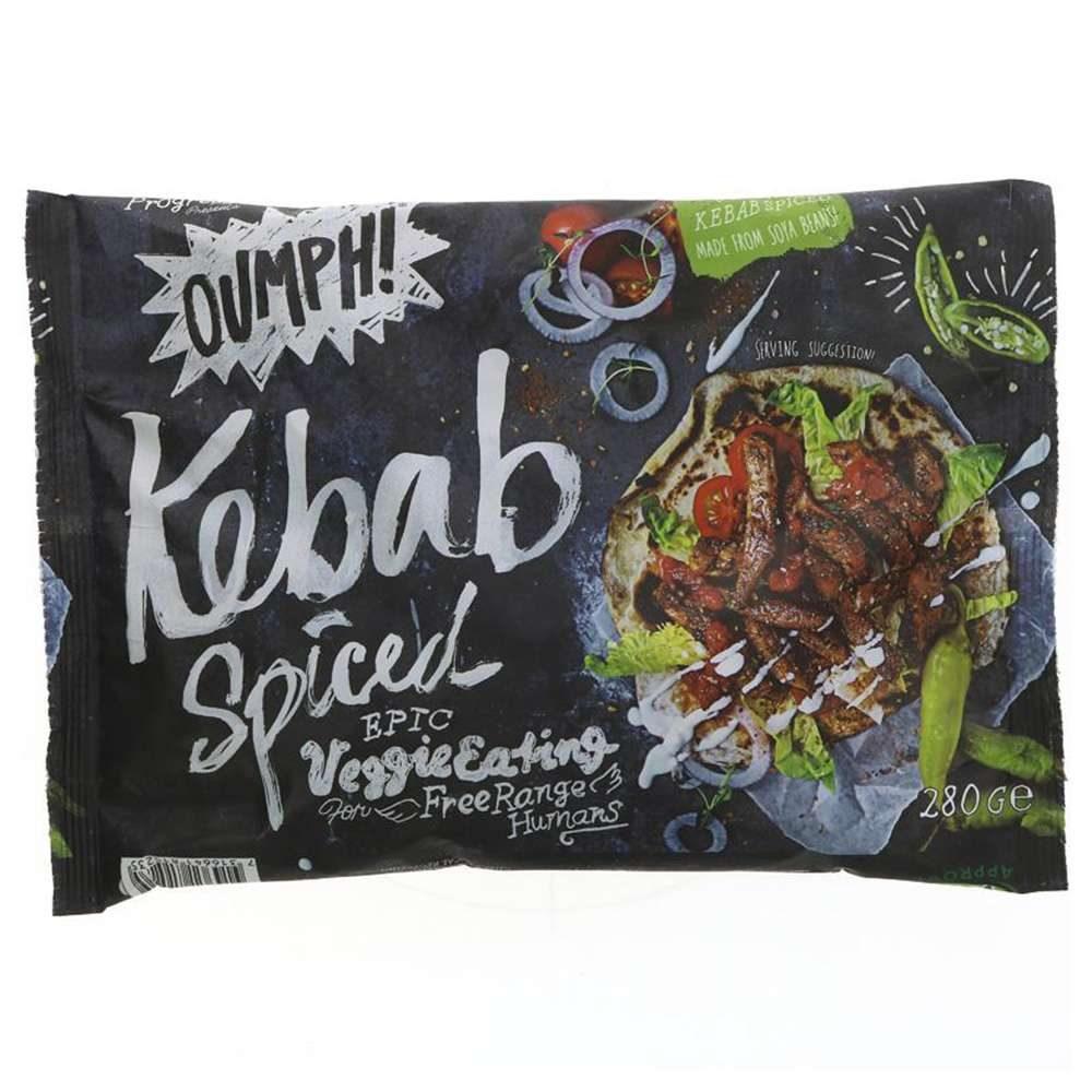 comida vegana kebab