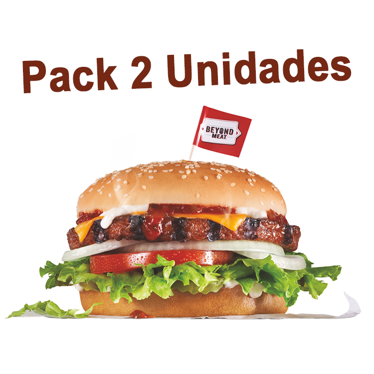 beyond burger pack 2 unidades de beyond meat