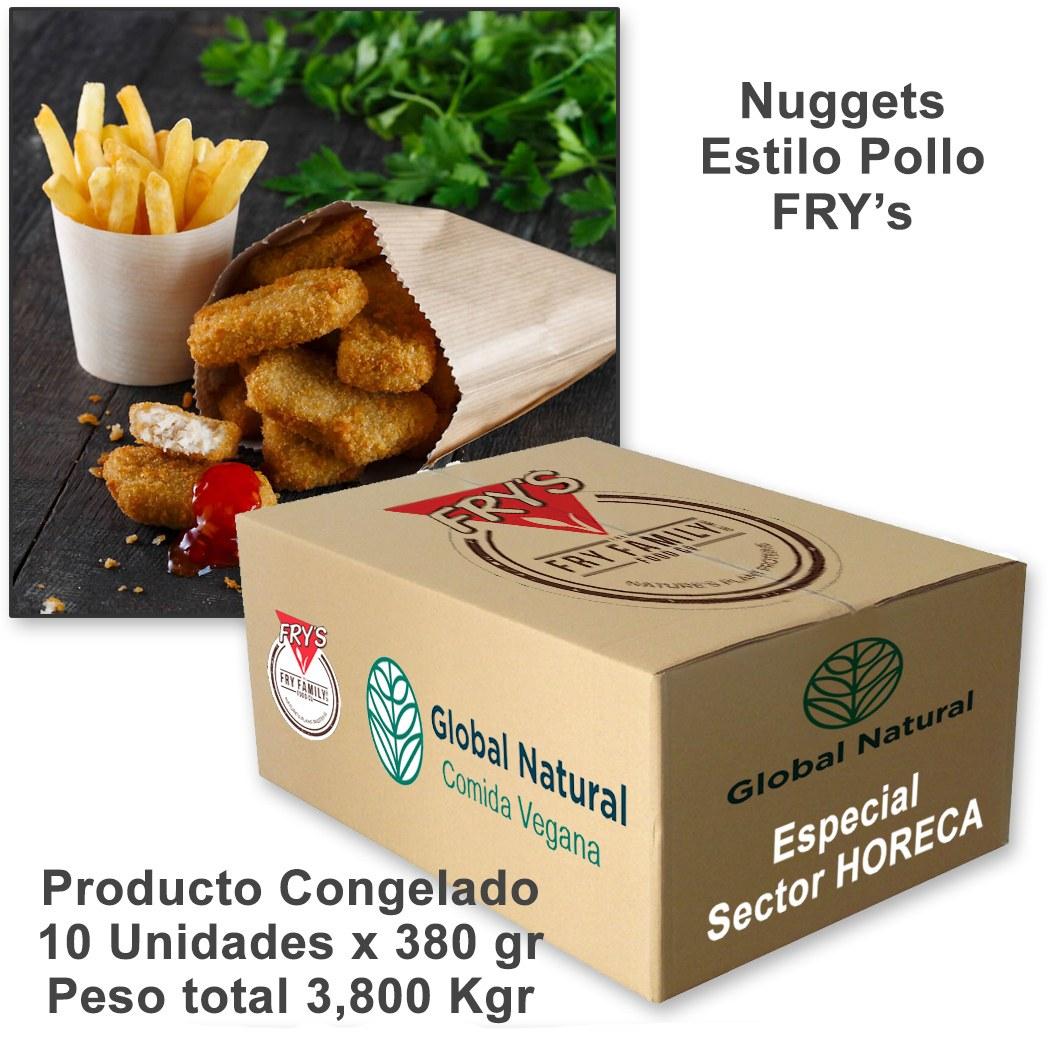 nuggets veganos sector horeca