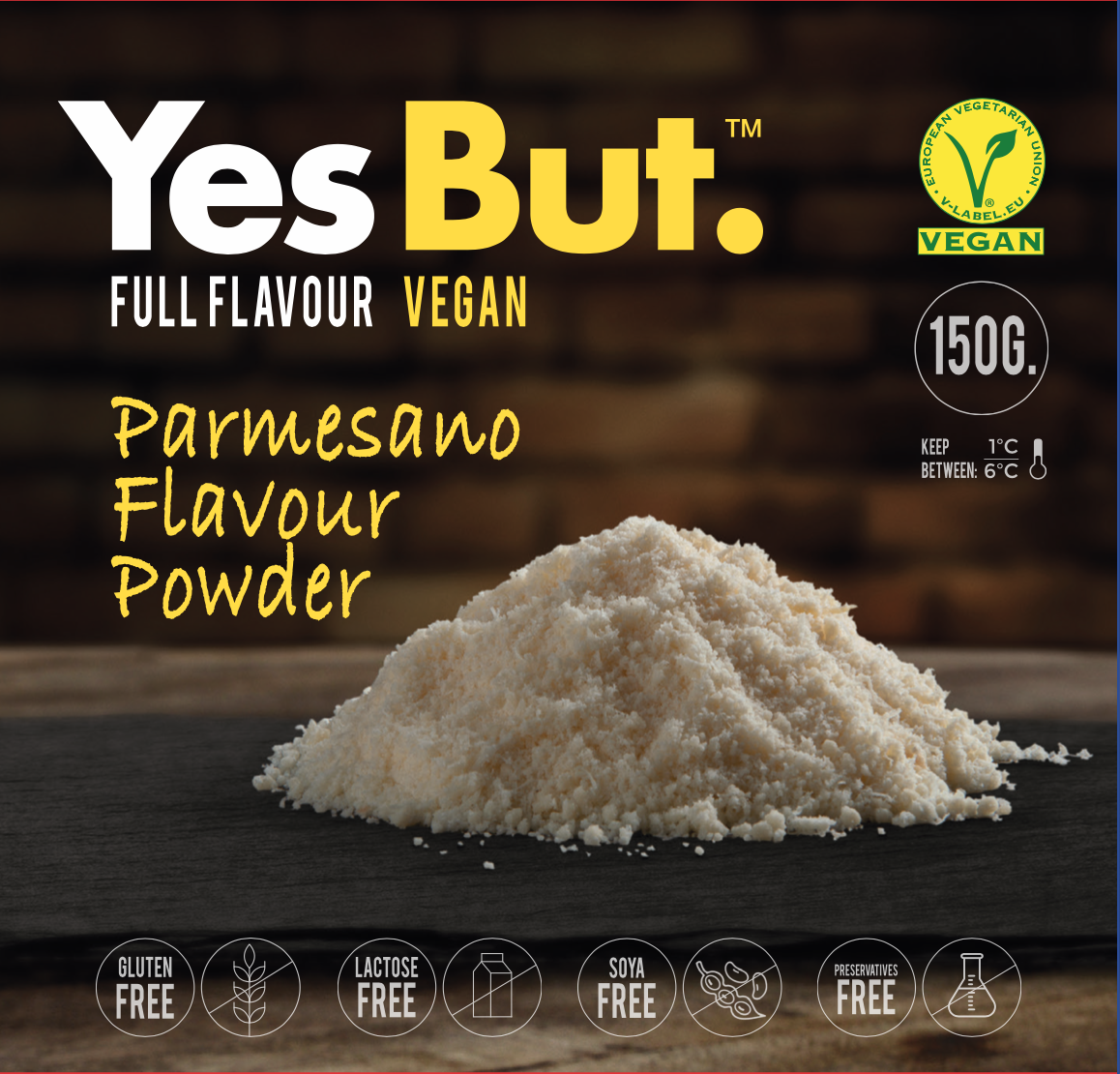 queso yesbut parmesano vegano