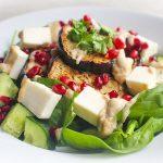 Receta vegana con berenejena