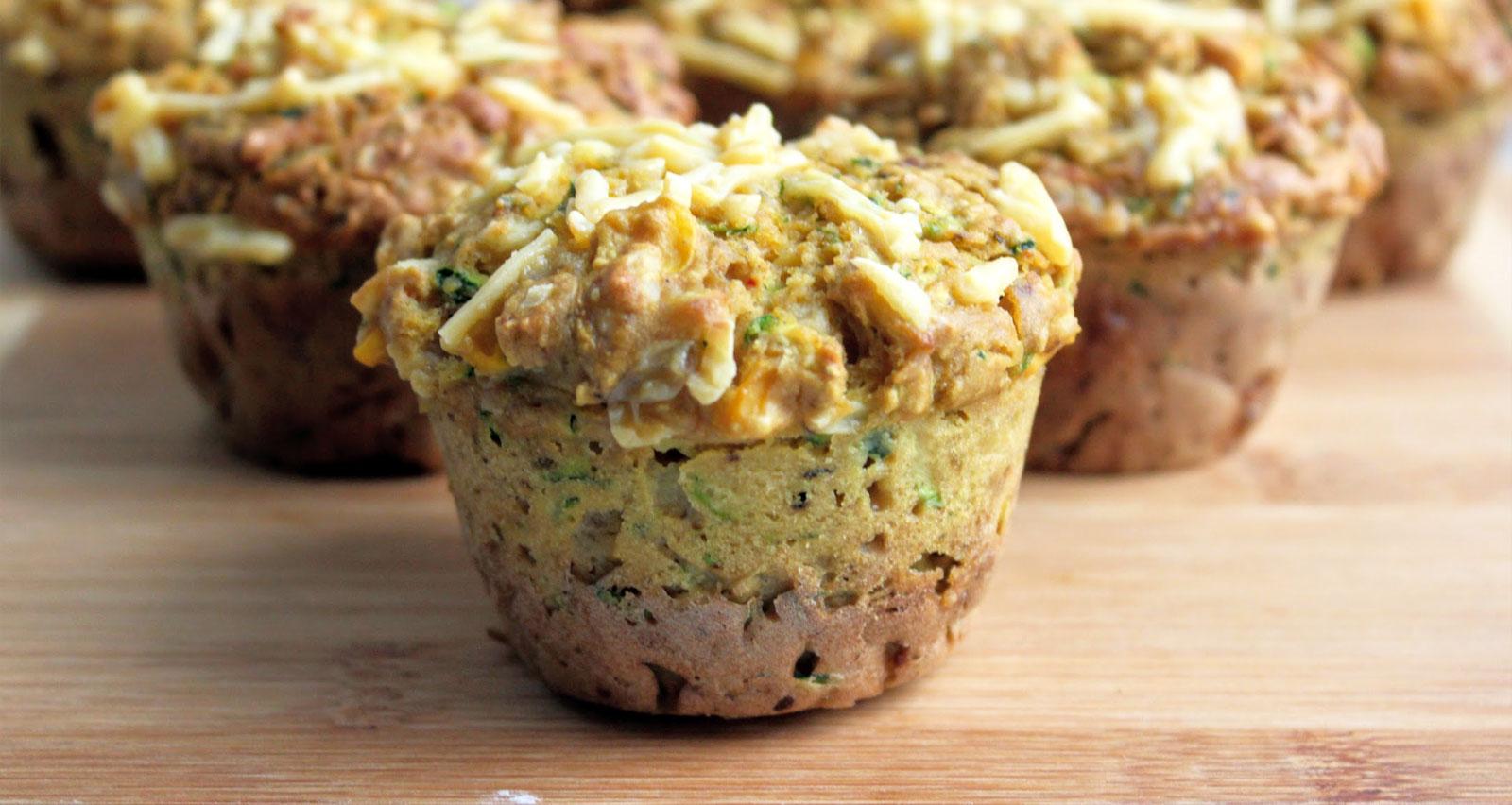 Resultado de imagen para muffins de calabacin y cheddar