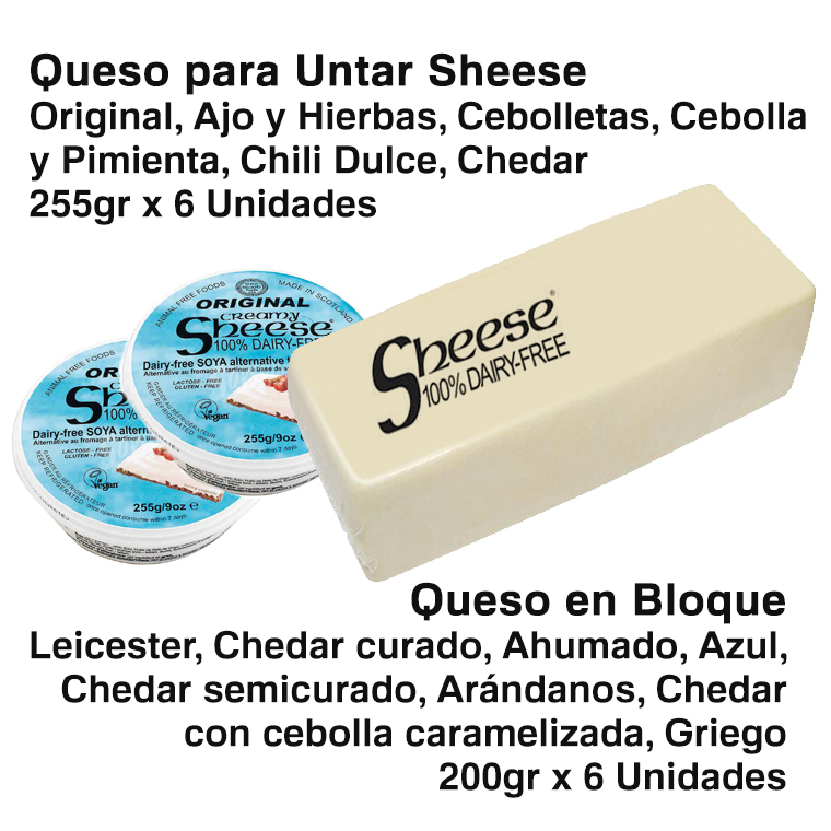 sheese dairy free
