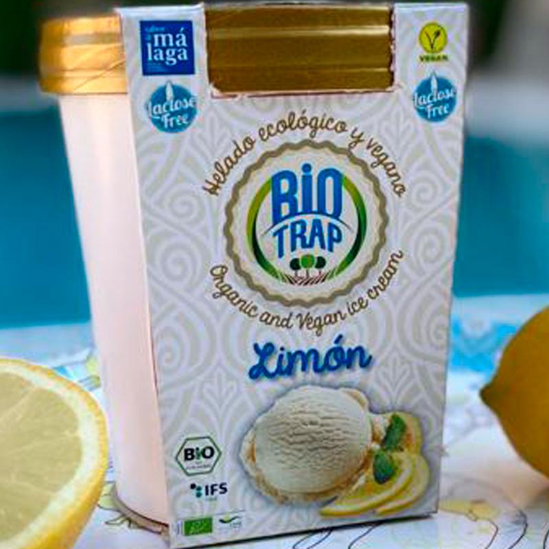 Helado sorbete de limón Ecológico Biotrap 500ml