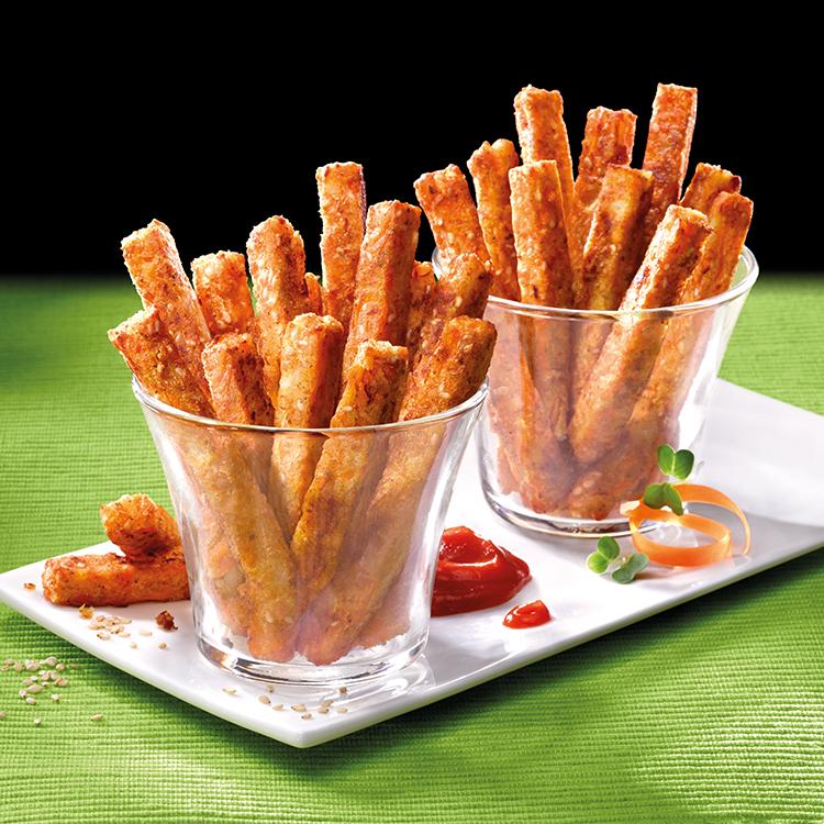 Sticks de Batatas con Chia ecológico
