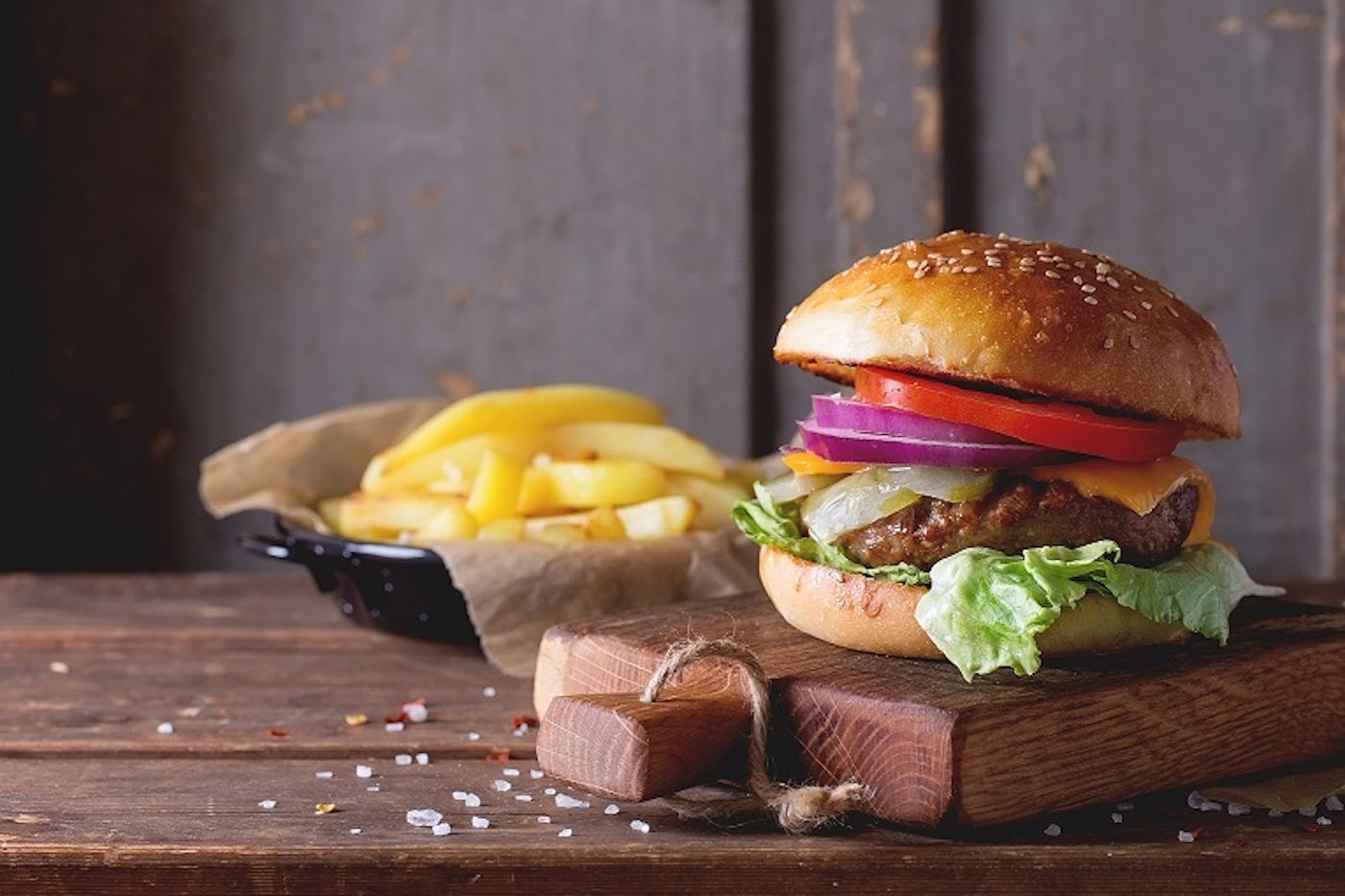 vegylove burger tabla