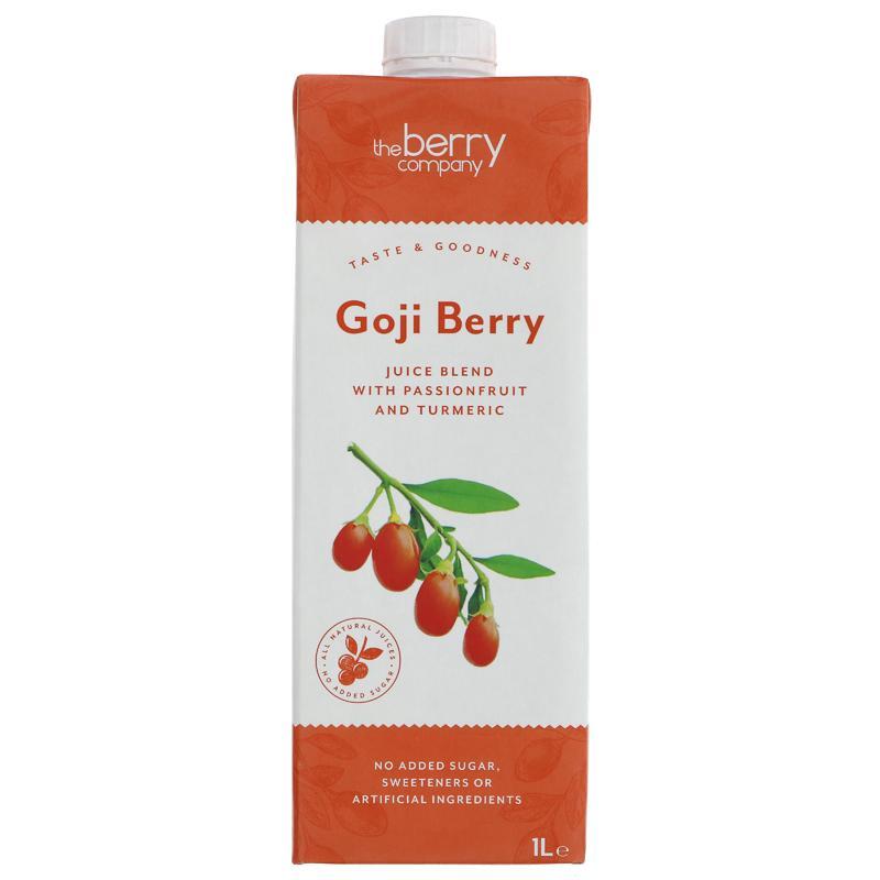 GOJI BERRY & PASSION FRUIT JUICY WATER 1L